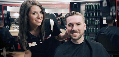 Sport Clips Haircuts of East Providence​ stylist hair cut